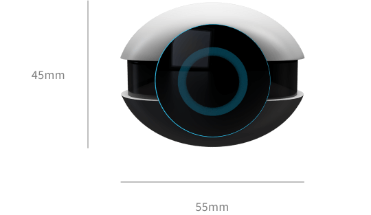 Device front view