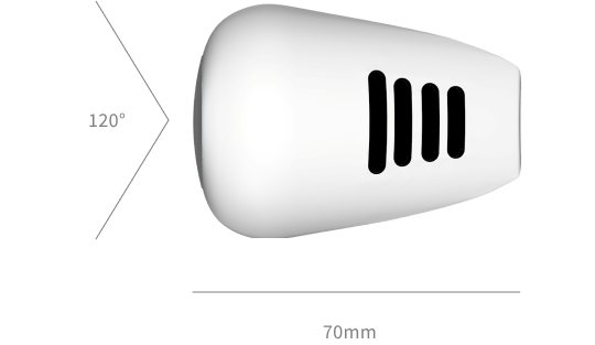 Device top view