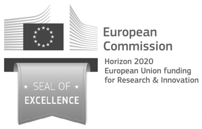 Seal of Excellence certificated by the European Commission, as the institution managing Horizon 2020,